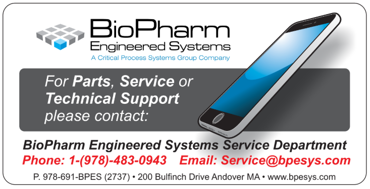 bioprocess engineering field service and support